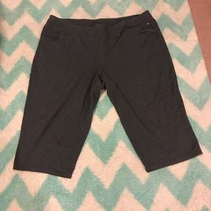 Lane Bryant plus size Capri work out pants